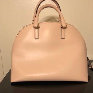 Pink hobo handbag